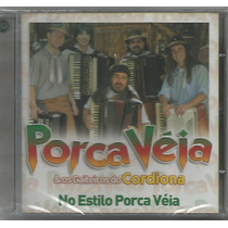 Porca Véia - No Estilo Porca Véia - Cd Novo - Música Gaúcha