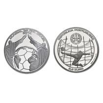 Moeda De 2,50 Euros Portugal 2014 - Copa Brasil