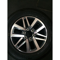 Roda Toyota Hilux Aro 18 + Pneu Bridgestone Novo Original