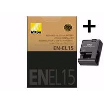 Bateria En-el15 Original Nikon D7000 D7100 D600 + Carregador