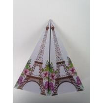 Cajitas En Forma De Torre Eiffel, Recuerdito O Candy Bar.