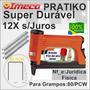 Grampeador Pratiko-imeco - Tapecaria-12x Sem Juros+brinde