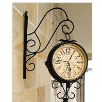 Relógio De Parede Tipo Estação Paris 1885 Diâmetro 12cm