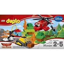 Juguete Lego Duplo Aviones Bomberos Y Rescate Kit De Trabaj