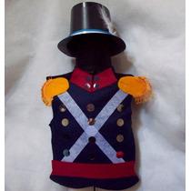 Disfraz Soldado Patricio Pechera Galera 5-8 Años Brovillnet