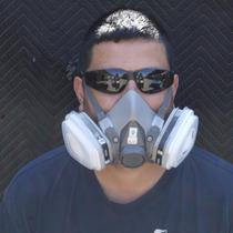 Mascarilla Respiratoria Facial 3m Filtros Intercambiables