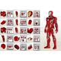 Planos Traje Iron Man Mark 4 Y 6 Marvel, Vengadores