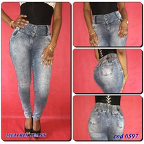 Calça Jeans Legging Meitrix- Cintura Média- Levanta Bumbum