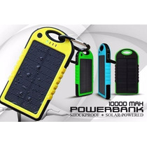 Bateria Externa Powerbank Solar 10000mah Iphone Galaxy Moto