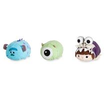 Set 3 Tsum Tsum Mini Peluches Monsters Inc Disney Store