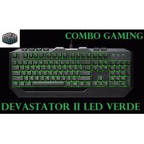 Teclado + Mouse Cooler Master Devastador2 Gaming Usb Con Luz