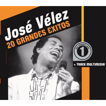 José Vélez - 20 Grandes Éxitos Cd