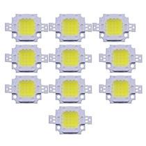 Led 10w Blanco Para Reflectores 10 Piezas Powerleds