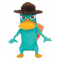Peluche Original Perry Phineas Y Ferb Disney 23cm