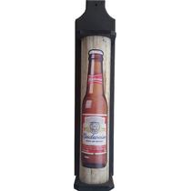 Porta Espeto Rústico Budweiser Churrasco Area De Lazer