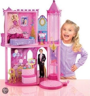 Casa casita castillo escuela princesas barbie nueva - Casas de princesas ...