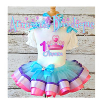 Conjuntos Tutu Vestidos Para Niñas Frozen Princesa Sofia