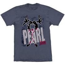Camiseta Pearl Jam Alive Stamp