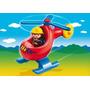 Helicoptero Playmobil 1.2.3