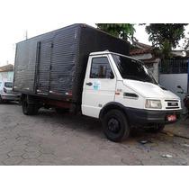 Iveco Daily Daili 35.10 Com Bau Caminhão 3/4 Aceito Troca
