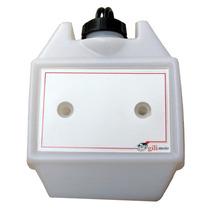 Tanque Plástico Moto Suplemetar Auxiliar 5,25 Litros Branco