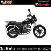 Zanella Patagonia Black Street 150 Contado, Ahora12,creditos