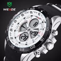 Relógio Pulso Weide Sports Led Digital E Analógico Wh-1103-r