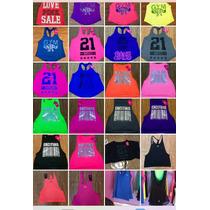 Blusa, Top Tank Y Top Para Dama (ropa Deportiva, Gym)