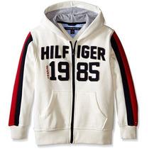 Tommy Hilfiger - Campera Algodón Frizado Adolescente T.16-18