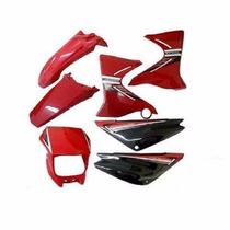 Kit Carenagem Adesivado Xtz 125 - Vermelho 2007