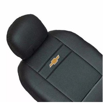 Capa De Banco Automotivo Couro Com Nylon Chevrolet