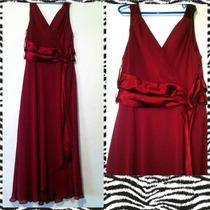 Vestido Vinotinto Talla M (10)