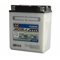 Bateria Moura Moto Mv14-e - Cbx 750 - Cb 1000 F - Vulcan 750