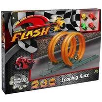 Brinquedo Moto Flash Radical Looping Pista De Motos Race Dtc