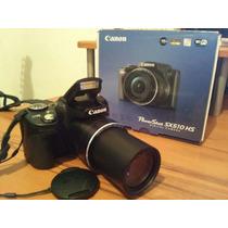 Vendo O Cambio Camara Semipro Canon Sx510 Hs Con Accesorios