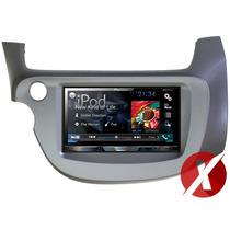 Central Multimídia Honda Fit 2010 Pioneer Avh-x5780tv Tv Dvd