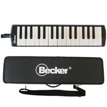 Escaleta Melodica Becker 32 Teclas Com Estojo Preta