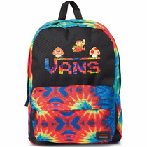 Mochila Backpack Vans Nintendo Backpack Mario Tie Dye