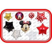 43 Globos Minnie Mouse Roja Fiestas Tematicas Envio Gratis