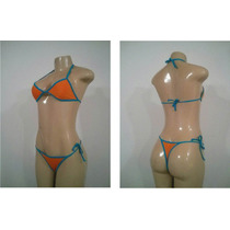 Traje De Baño Fashion Sol Bikini Dama Brasilero 100% Lycra