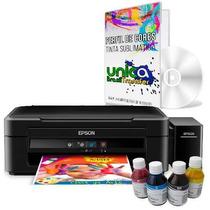 Impressora Epson L220 P Sublimação + 400ml Tinta Sublimatica