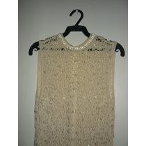 Vendo Vestido Para Dama Tejido A Mano En Crochet Elegante...