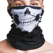 Pasamontaña Cuellera De Calavera Antifaz Mascara Moto Caceri