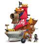 Fisher-price Imaginext Mordedura Del Tiburón Barco Pirata