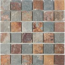 Mallas De Piedra Oxido Natural 30x30 Apto Pisos Y Paredes.