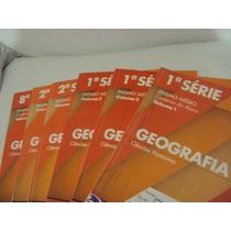 Livro Apostila Caderno Do Aluno Geografia 1ª,2ª E 8ª Série