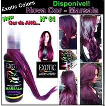 Exotic Criativ Colors Tonalizante Marsala
