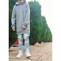 Blusa Moletom Frio Boa Qualidade Estilo Justin Bieber Swag