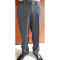 Pantalón De Vestir Phillgreen Color Gris Talle 48