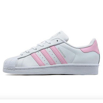 Adidas Superstar Dama Rosa Pastel Silver.edition Envio Free